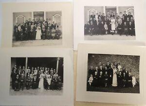 Lot-de-4-photographies-de-mariage-24-cm-annees-50