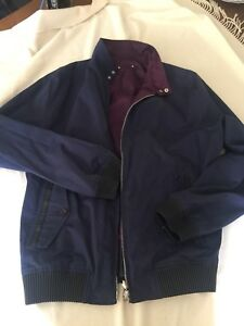 da9e41e44ce7 Image is loading Louis-Vuitton-Reversible-Mens-Jacket