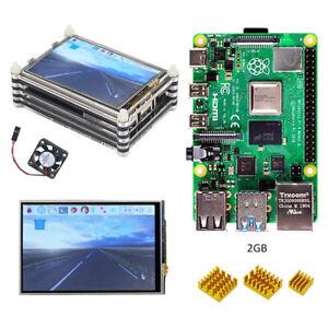 Raspberry-pi-4-model-B-2GB-RAM-kit-with-3-5-inch-LCD-dispaly-Acrylic-case