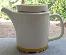 Arabia of Finland Faenza Yellow Covered Coffee Server