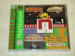Namco-Museum-Vol-1-for-Ps1-in-Very-Good-Condition-Complete-in-Box-Free-Ship