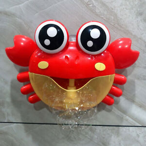 Cute-Crab-Bagno-Giocattolo-Per-Bambini-Bubble-Maker-Musica-Sapone-Macchina