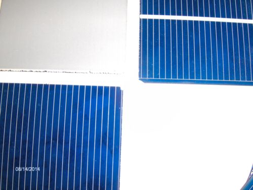 Solar cells diy kit 20 watt  solar panel kit cells wires flux pen jbx diode