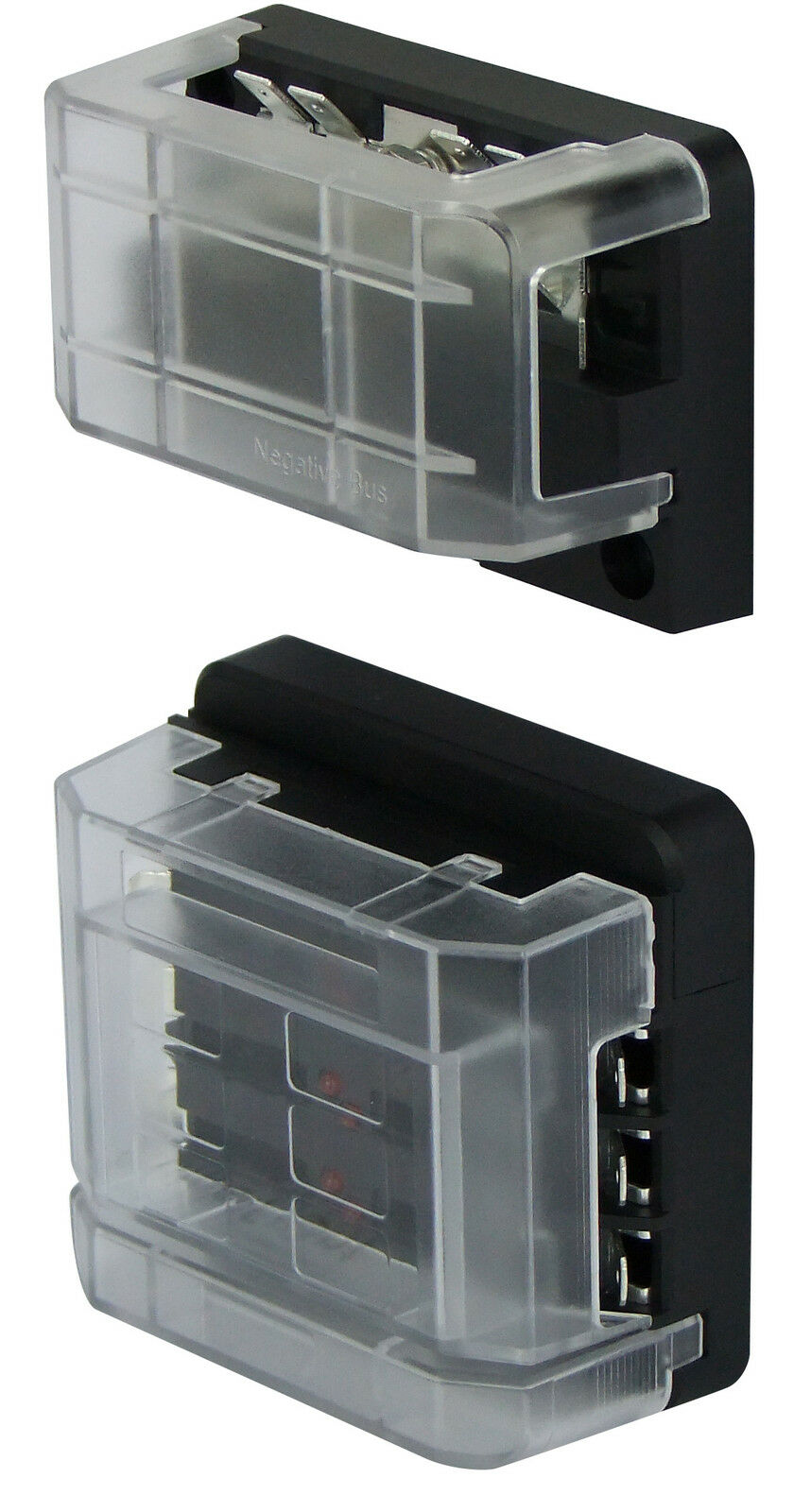 Buss Bar 12 Way With 6 Circuit Fuse Box Modular Kit 12v