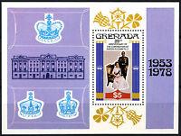 Grenada 1978 Coronation 25th Anniv MNH M/S #R516