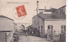 GONDRECOURT rue de bonnet vélo chien éd maas timbrée 1916