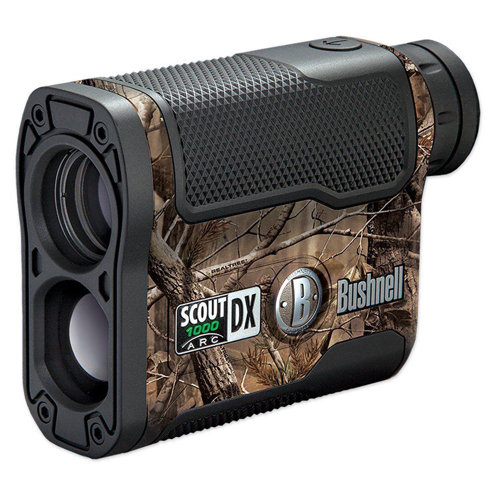 Bushnell Scout DX 1000 ARC aumento de 6x 1000 YD (approx. 914.40 m) telémetro láser, Camo