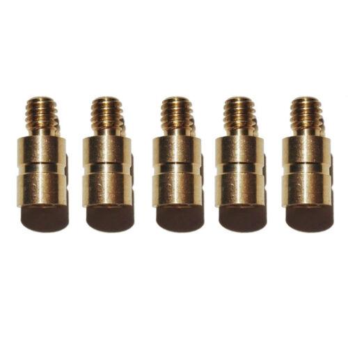 24PCS Copper Arrow Weight Insert 25 50 100 Grains Archery Screw Brass Bow Weight