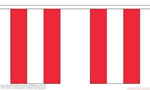 austria flag bunting 9m 30 feet vienna graz salzburg 30 flags