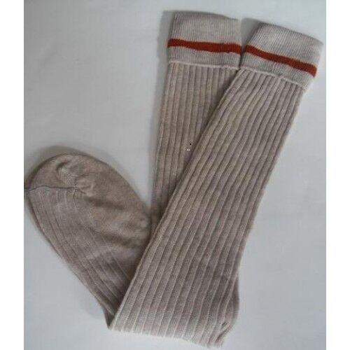 Prep school socks in an Adult size.