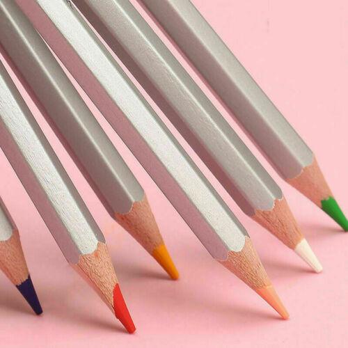 24//36//48Pc Aquarell Stifte Farbige Wasserlöslich Kabel Malen Sketch Stift