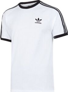 adidas Originals 3 Stripes Tee White