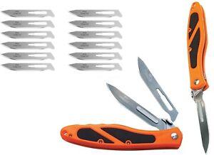 NEW-Havalon-EDGE-Hunting-Skinning-Guide-knife-ORANGE-XTC-60AEDGE-Piranta-60A