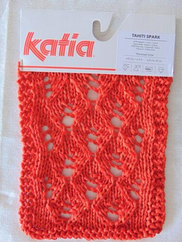 50 g-fil-laine 100gr.//7,98 Tahiti Spark-Katia