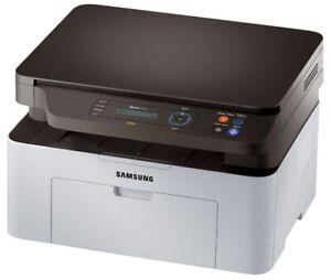 SAMSUNG Xpress SL-M2070W Laser-Multifunktionsgerät, mit WLAN XL Toner* Text