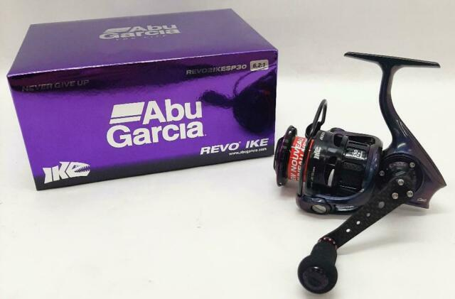 C6 Carbon Abu Garcia Revo IKE Spinning Reel 6:2:1 Gear Ratio 9 HPCR™ bearings