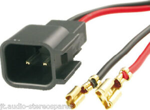 Pioneer Deh Keh Radio Estéreo Antiguo Negro 12 Pin arnés de cableado Conector ISO Telar