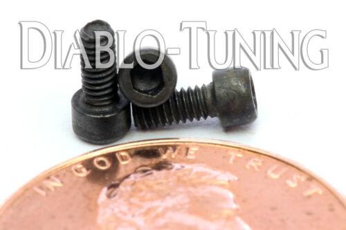 "Qty 10 Alloy Steel Black Oxide #1-72 x 3//16/"" Socket Head Cap Screws SAE US"