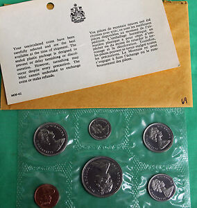 1969-Canada-6-Moneda-Prueba-PL-Juego-RCM-original-SOBRES-CERTIFICADO-R