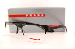 Prada Glasses Frames Vision Express : Brand New Prada Sport Linea Rossa Eyeglass Frames PS 55FV ...
