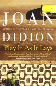 Play-It-As-It-ESTABLECE-POR-JOAN-DIDION-Libro-De-Bolsillo-9780007414987-NUEVO