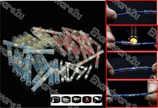 50pcs Waterproof Solder Sleeve Heat Shrink Butt Wire Splice Connector (SST-50)