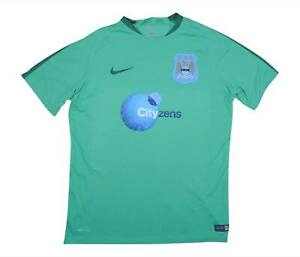 Manchester-City-2013-14-Authentic-Training-Shirt-OTTIMO-L-soccer-jersey