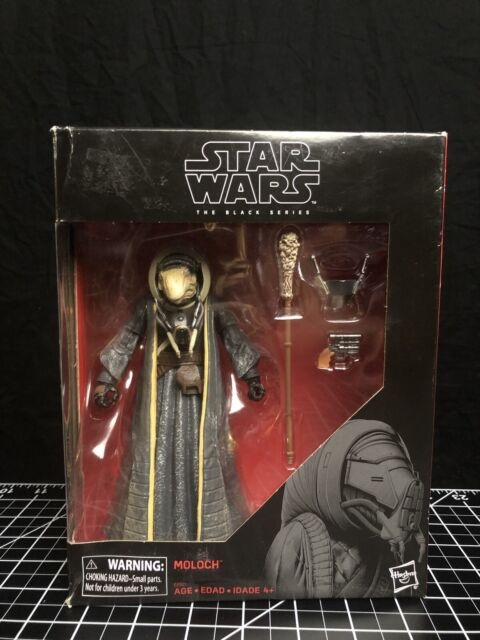 "New Star Wars The Black Series 6"" Moloch TARGET EXCLUSIVE Collectible Figure Toy"