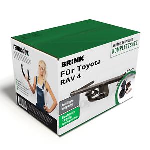 Brink-Anhaengerkupplung-abnehmbar-amp-13poliger-AC-E-Satz-fuer-Toyota-RAV-4-00-TOP