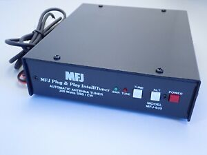 MFJ-939i Plug & Play 200W 1.8-30MHz HF Autotuner Icom