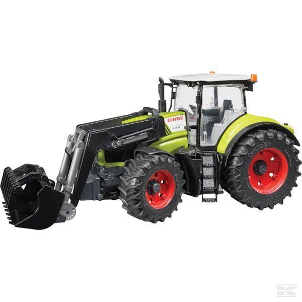 Bruder Claas Axion 950 Tracteur avec chargeur échelle 1 16 Modèle Jouet Cadeau