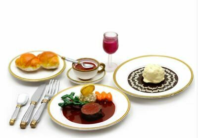 RARE Re-ment Miniature Europe Gourmet Tour Food No.10 ~ Turkey Shish kebab