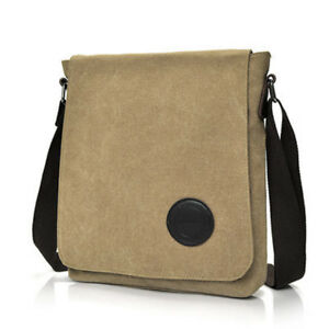 1590b328f59b Details about Vintage Military Men Canvas Crossbody Bag Casual Satchel Messenger  Shoulder Bags
