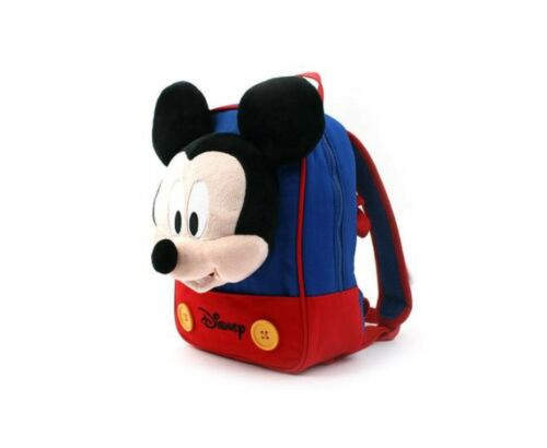 Kids Toddler Baby Cute Mickey Finger Character Safety Harness Backpack Blue