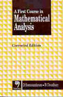 A First Course in Mathematical Analysis by B. Choudhary, D. Somasundaram (Paperback, 1996)