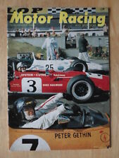 MOTOR RACING AND SPORTS CAR MAGAZINE - NOVEMBER 1969 EDITION - RARE MAG