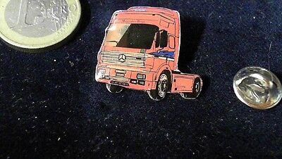 Ausdrucksvoll Mercedes Benz Daimler Chrysler Pin Badge Mb Lkw Rot Reines Und Mildes Aroma