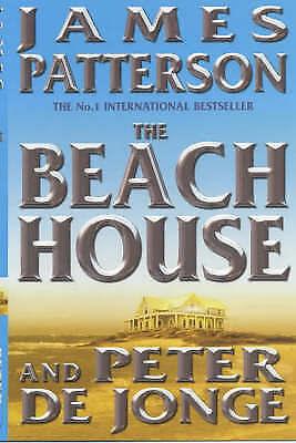 """VERY GOOD"" The Beach House, De Jonge, Peter, Patterson, James, Book"