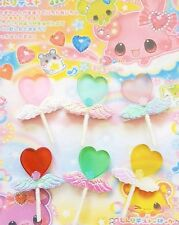 New Kawaii Cute Anime Hair Clip Hair Bow Fairy Kei  Cosplay Lollipop Heart Candy