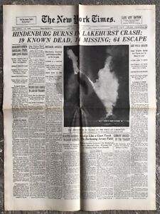 N148-La-Une-Du-Journal-The-New-York-Times-7-Mai-1937