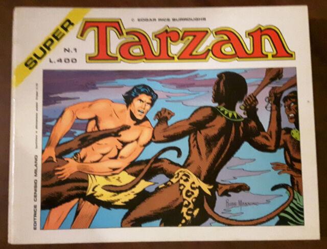 SUPER TARZAN completa 1/10 - ed Cenisio 1974- ottimo/edicola