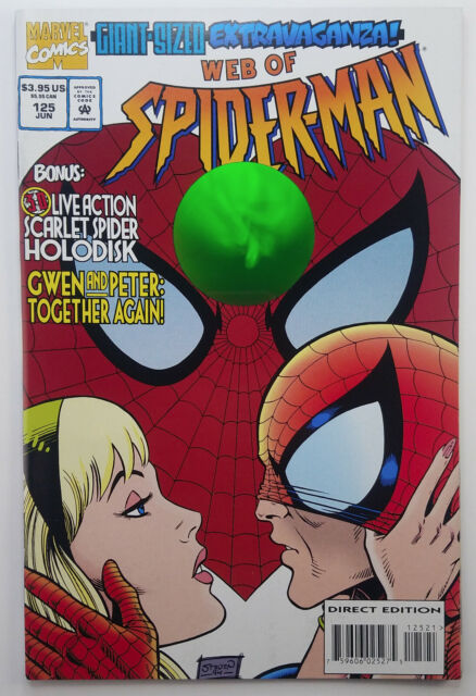 Web of Spider-man 125   featuring Gwen Stacy   Marvel Comics   1995   NM