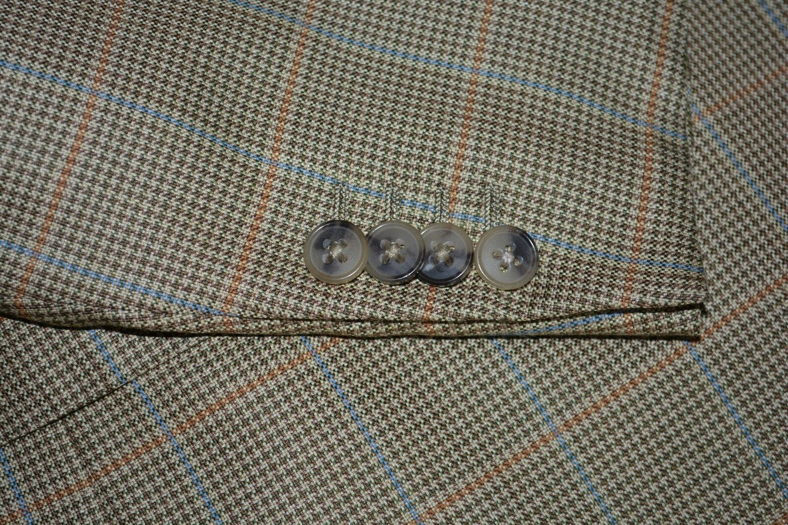 2495 Recent Ermenegildo Zegna 44L 44 L Wool Silk Sportcoat ITALY