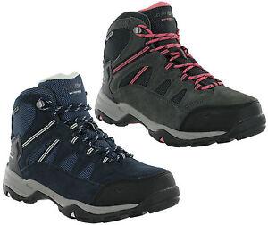 Hi-Tec-Bandera-Leather-Waterproof-Suede-Walking-Hiking-Trail-Womens-Boots