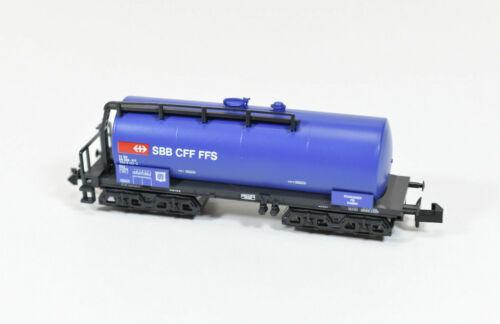 13690 //// AB 757 V Art.-Nr Kesselwagen 4- achsig SBB Ep Minitrix Spur N