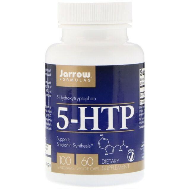 Jarrow Formulas, 5-HTP, 100 mg, 60 Caps