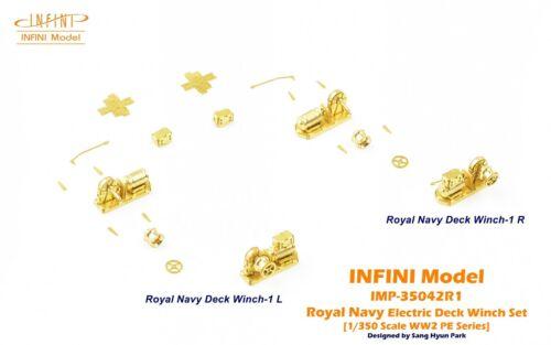 ROYAL NAVY 1//350 INFINI MODEL WW2 ELECTRIC DECK WINCH SET C