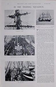 1896 Guerre Des Boers Bleu Marine Entraînement Escadron Enrouleur Voile Ao8wzk2c-07235404-439612885