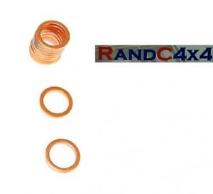 UAM2857L-x10-Land-Rover-Discovery-300-Tdi-Oil-Sump-Plug-Bung-Washers-x10