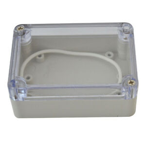 Waterproof Cover Electronic Project Box Enclosure Case 100*68*50mm Plastic